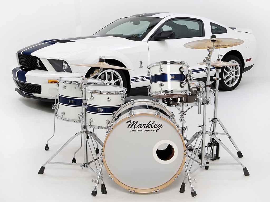 Markley Signature Maple Series Detail View - Shelby GT500 Kit