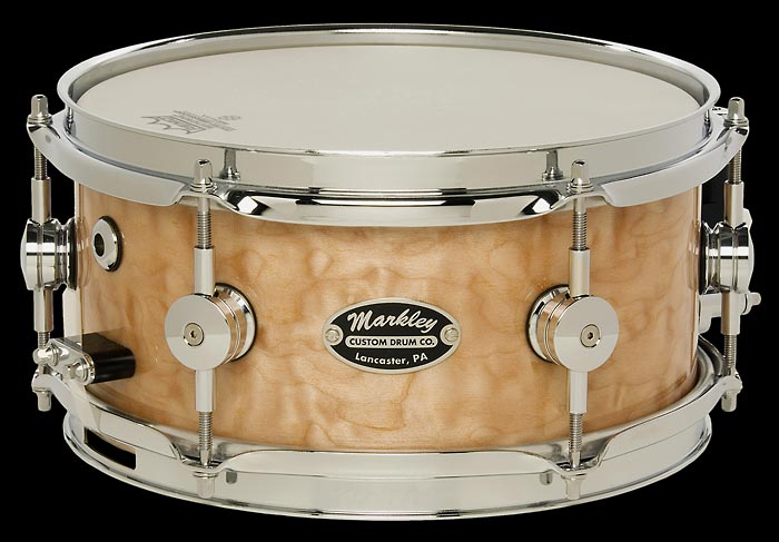 Markley Signature Maple Snare Series Detail View
